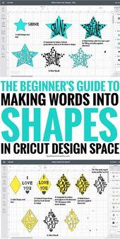 Edite formas en el espacio de diseño de Cricut – Recorte texto ¡Hola, Daydreamers! Las formas son …   – food-and-drinks