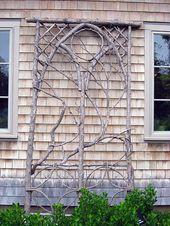 Über 30 Gartenprojekte mit Stöcken und Zweigen