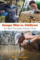 Sawyer Mini vs. LifeStraw – Vilken är bäst?
