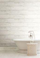 Magnolia Home Shiplap Hintergrund – Kühles Weiß