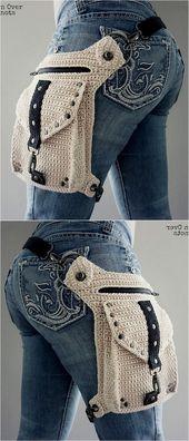 Wunderbare Häkelideen für Taschen und Haushaltsgegenstände