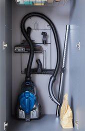 Porte Aspirateur A Suspendre Noir H 59 X L 30 X P 3 5 Cm Rangement Table A Repasser Rangement Aspirateur Rangement Utile