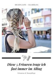 5 einfache Frisuren, die Sie jeden Tag tragen können – Frisuren – LIEBLINGE • braids.life