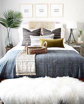 schöne schlafzimmer inspiration | Boho Vibes | stilvolles Zuhause | schönes Interieur | pl …   – Wohnen