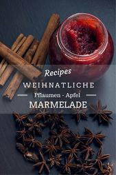 Christmas plum and apple jam | Kaschula