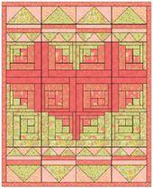 Blockhaus Baby Quilt