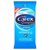 Carex Wipes Refreshing X 15 Cleansing Wipes Cleaning Wipes Wipes