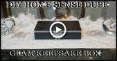 DIY #GLAM #HOME #SENSE #DUPE #JEWELRY # / #KEEPSAKE   Korb und Kiste – Wohnaccessoires