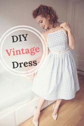 DIY Vintage Dress – kleid