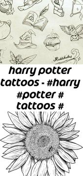 Harry potter tattoos – #harry #potter # tattoos # drawing 6