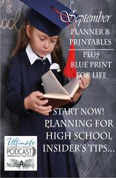 FREE All the things Excessive Faculty Planner plus Blue Print for Life Printables – Final Homeschool Podcast Community