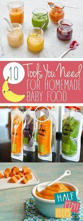 So machen Sie hausgemachte Babynahrung: 27 Tipps, Hacks und Rezepte Stufe 1 hausgemachte Babynahrung  – mypins