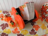 FALL DECOR NAPKIN Holder/Condiments #CandyCorn #c…