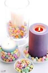 10 Simple & Sweet Valentine's Day Centerpieces - thegoodstuff