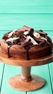 Pastel de chocolate sin harina   – Chocolate Desserts Worth Indulging