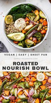 761b28de9558c31e5f1af13e8815b30c Keep warm and nourished with nutrient dense Roasted Nourish Bowls recipe, featur...