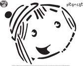 Peg + Cat Pumpkin Carving Templates . Happy Halloween! . PBS Parents