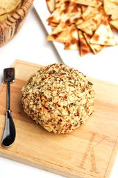Taco Cheese Ball Recipe | Horses & Heels