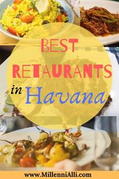Finest Locations to Eat in Havana