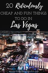 20 Low cost Issues to do in Vegas