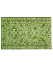 Bespoky Vintage Area Rug Green 5'7″x8'5″ One of a Kind Turkish Vintage Rug from Houzz | Real Simple
