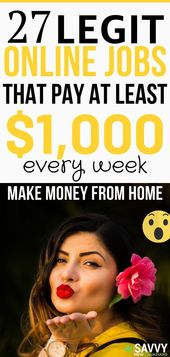 27 Creative Ways To Make Money From Home and Earn …
