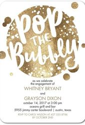 22 Engagement Party Invites To 'Say Yes' To!   – Wedding Invitation