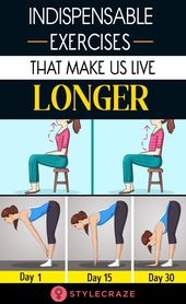 Scientists Tell Us About The Indispensable Exercises That Make Us Live Longer 1