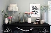 Wandgestaltung mit Alpina – Flur & Wohnzimmer im neuen Look • Ich Liebe Deko -…