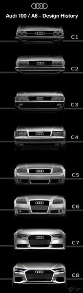 Audi 100 A6 Design History – Audi Photos