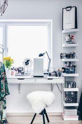Meine neue Schminkecke inklusive praktischer Kosmetikaufbewahrung! – Life und Style Blog aus Österreich