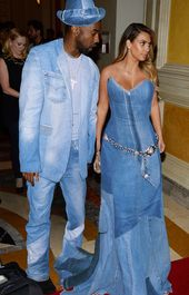 8 Celebrity Couples Wearing Justin Timberlake and Britney Spears's Denim Formalwear