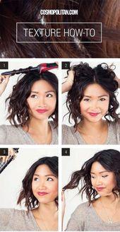40 Einfache Frisuren (keine Frisuren) für Frauen mit kurzen Haaren – So stylen Sie kurze Frisuren   – hair