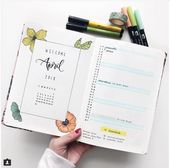 20 Monthly Spread Layouts for your Bullet Journal – Ideas and Inspiration