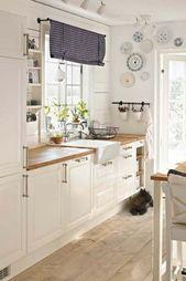 Nyckelelement i utformningen av ett litet modernt kök