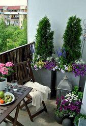 30 Small Cozy Balcony Garden Ideas You Should Look