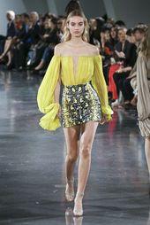 Mugler, Spring-Summer 2018, Paris, Womenswear