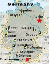 location map oberammergau