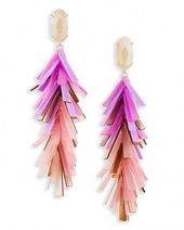 Statement Ohrringe von Kendra Scott Justyne in Blush Mix   – I Love Sparkles