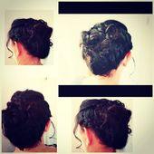 # hochstürur #locken #pflechten # dutch braid # french braid #ball – hairstyles – #ball #braid –