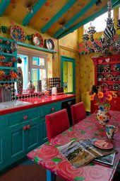 Inspirierende böhmische Küche und wie Sie Ihrer Küche böhmischen Stil verleihen #bohemian Entdec…