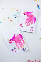 Einhorn Geburtstag: 6 Ideen und Rezepte – Mama Kreativ   – ♥ Ideen für Kindergeburtstag | Kinder Motto Party ♥