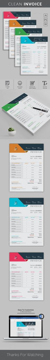 100 best Invoice Template images on Pinterest Invoice template - check invoice