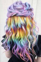 25 Tips & Illuminant Shades für magisches, holografisches Haar – Haarfarben