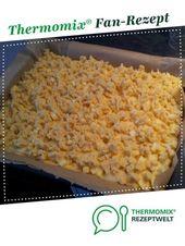 Blechkuchen mit Butterkrümel von Jully23. Ein Thermomix ® Rezept aus dem …   – Kuchen