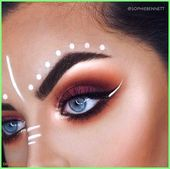 50+ Makeup – Inspiration | Makeup for the Carnival 2018 # Eyes Makeup Tips #H …