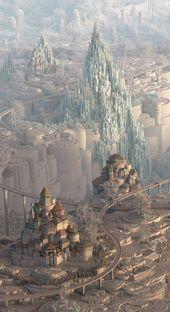 Fantasy-Stadt