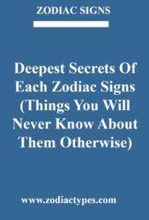 Die tiefsten Geheimnisse der einzelnen Sternzeichen (Dinge, die Sie sonst nie wissen werden … – Zodiac Signs <3