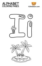 Free Printable Alphabet Coloring Pages for Kids | 123 Kids Fun Apps