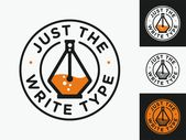 Just the Write Type Logo Concepts